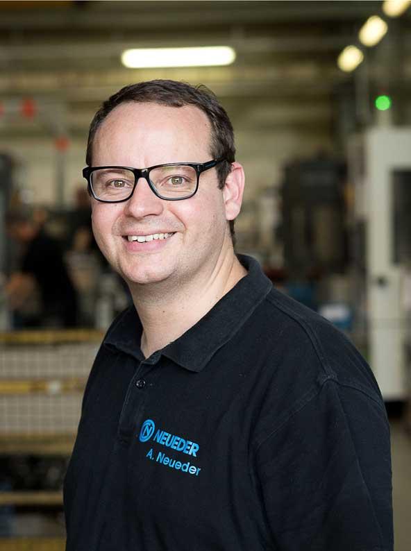 Neueder, Andreas, Geschäftsführer Neueder Maschinenbau