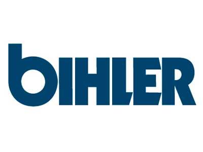 Logo der Firma Bihler als Referenz für Neueder Maschinenbau