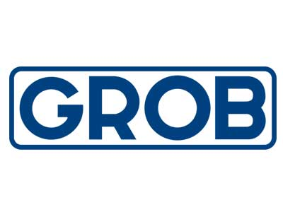 Logo der Firma Grob als Referenz von Neueder Maschinenbau