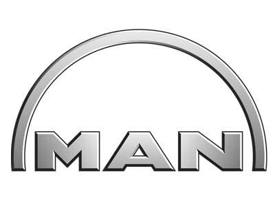 Logo der Firma MAN als Referenz für Neueder Maschinenbau